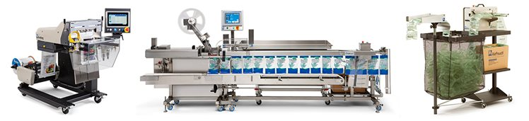 Autobag 500 Bagging System | FAS SPrint Revolution SidePouch Food Bagger | AirPouch Pillow Separator